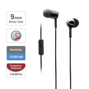 Tai nghe in-ear Extra Bass Sony MDR Ex155AP